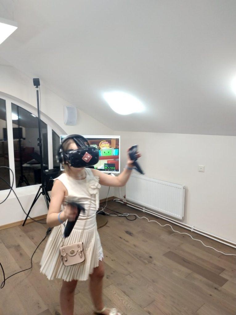 Виртуальная реальность на детский праздник
